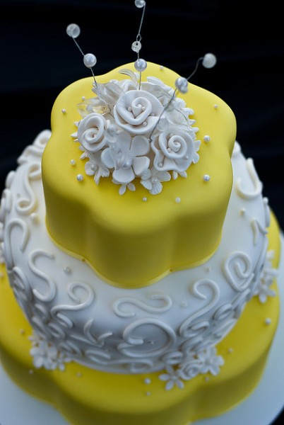 Wedding Cake by Liji Jinaraj