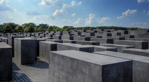 Memorial to the Murdered Jews of Europe by Wolfgang Staudt
