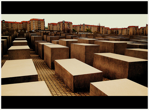 JEWISH MEMORIAL BERLIN GERMANY APRIL 2012 by calflier001