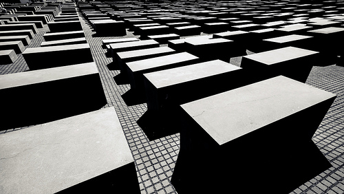 Holocaust Memorial Berlin by Daniel Foster