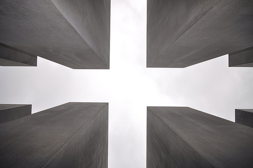 Detail of the stelae - Memorial to the Murdered Jews of Europe by Jorge Láscar
