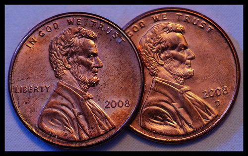 My 2 cents by Clay Swatzell penny pennies