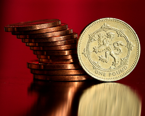 Look after the pennies and the pounds will look after themselves by Tristan Martin penny pennies