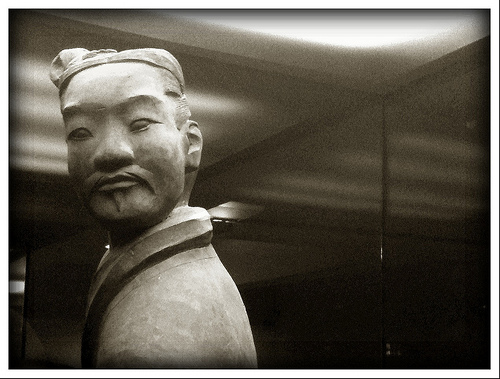 Terracotta Warrior, Xian by J C