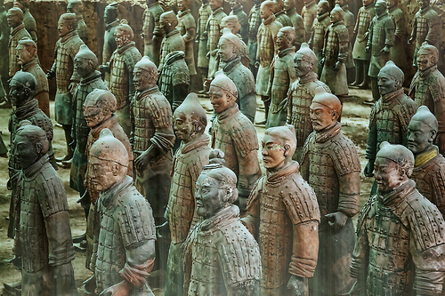 Terracotta Warriors by Pedro Szekely
