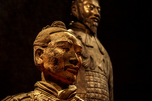 terracotta warriors by Hans Splinter