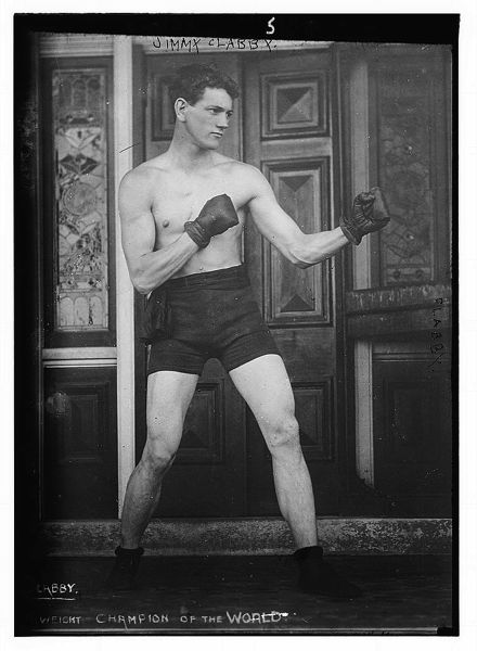 Boxer Jimmy Clabby