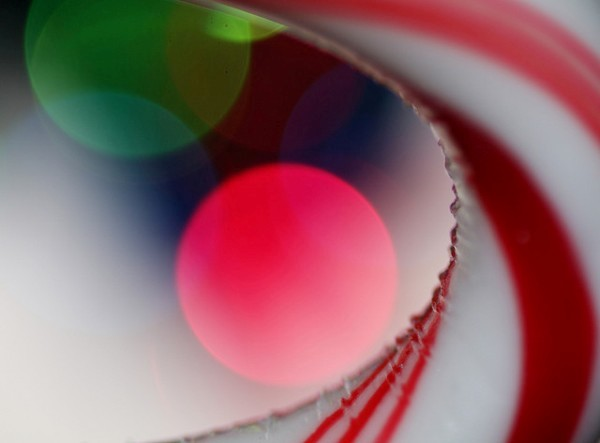 Candy Cane Curve by Terry Porter