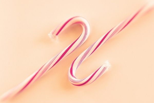 Pink Candy Cane by Julee Dyer