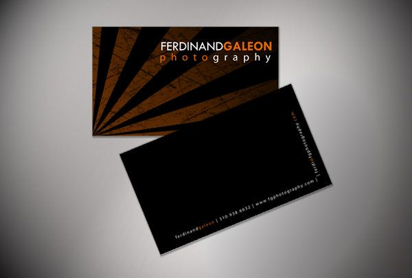 25 inspiring business card designs for photographers business card photographer reheart Image collections