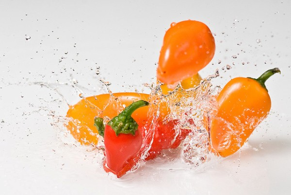 Splash of Chili Pepper by Kyle May