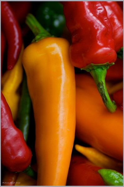 Peppers at The Market by Rob Shenk