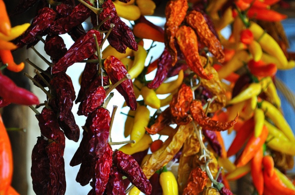 Hot Chili Peppers by Will Clayton
