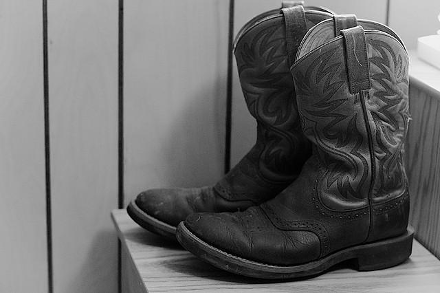 These Boots Were Made For... by Alan Levine