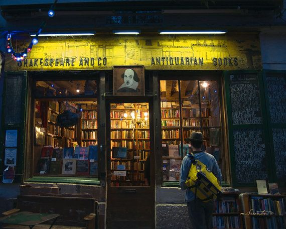 Finding Shakespeare and Co Paris