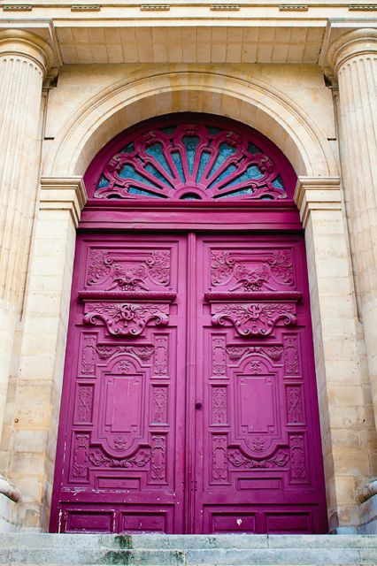 Parisian Merlot Door