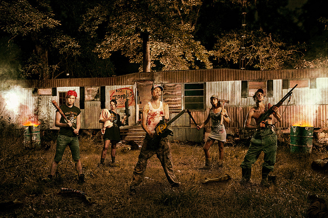 20 Disturbingly Awesome Pictures Of Zombies
