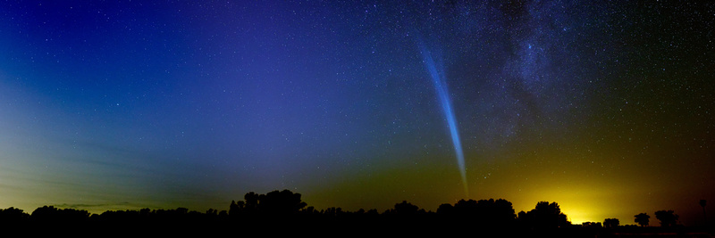 how to take pictures of comets