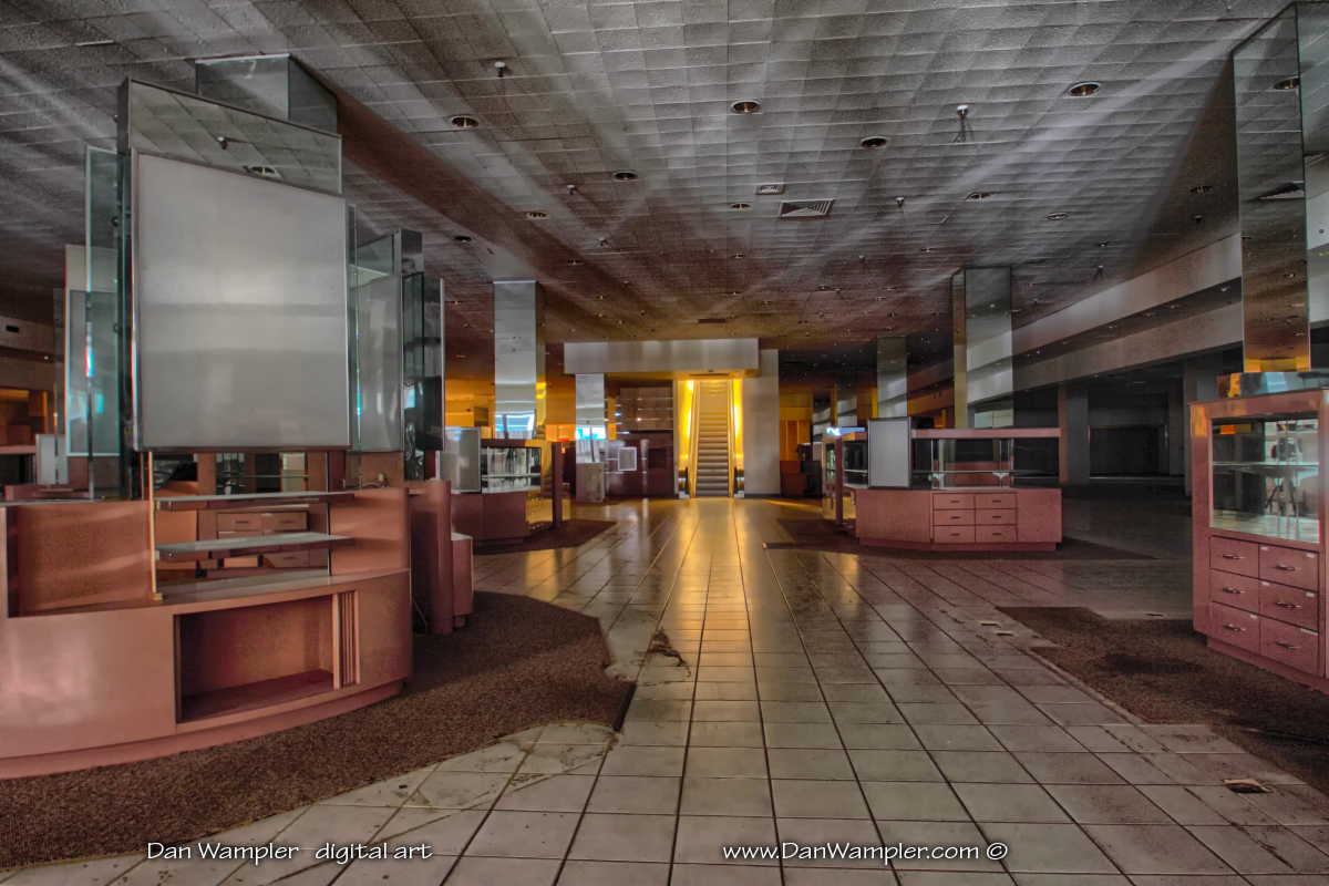 Eerie Images Of An Abandoned Shopping Mall By Dan Wampler