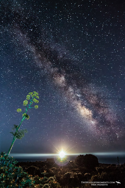 Milky Way in Italy