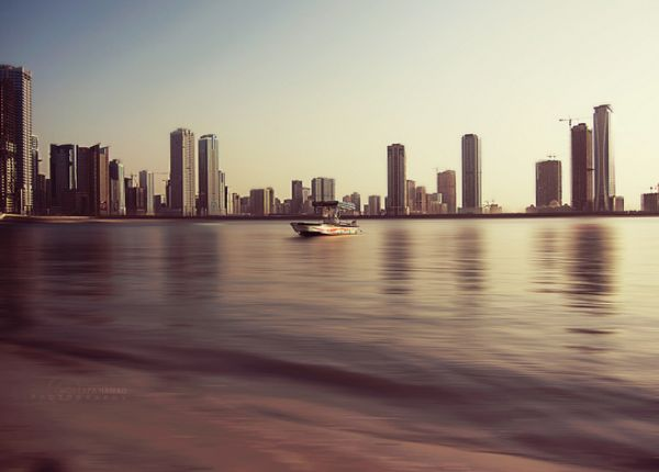 Boat in Sharjah