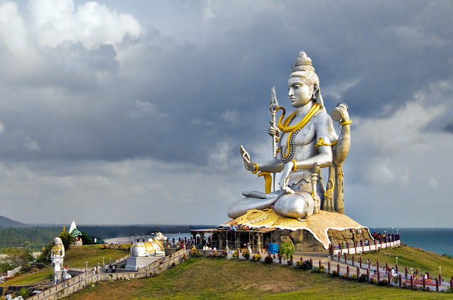 Anoop Negi India A Beatific Shiva at Murudeshwar