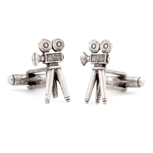 Movie Camera Cufflinks