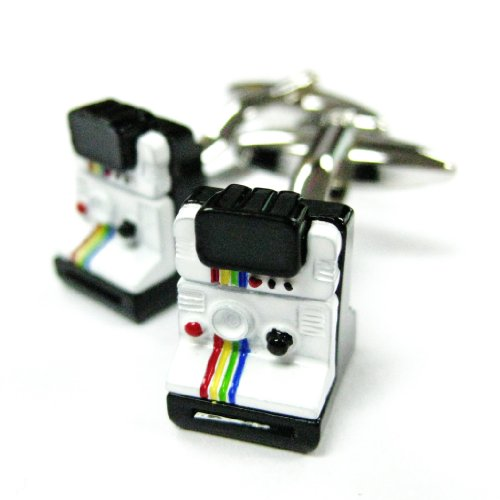 Tailor B Polaroid 100 Camera Cufflinks