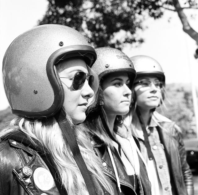the women's motorcycle exhibition