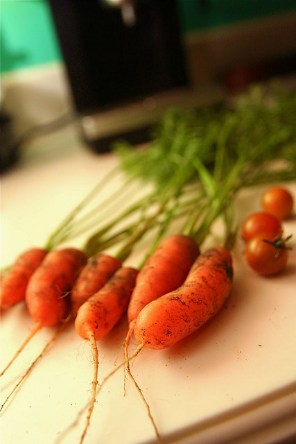 Fresh Carrots by Steven Depolo