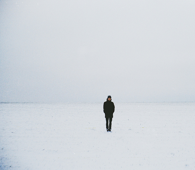 Evgeniy Stepanets people in vast empty spaces