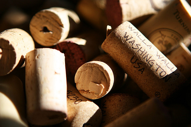 Wine Corks by Dudley Carr