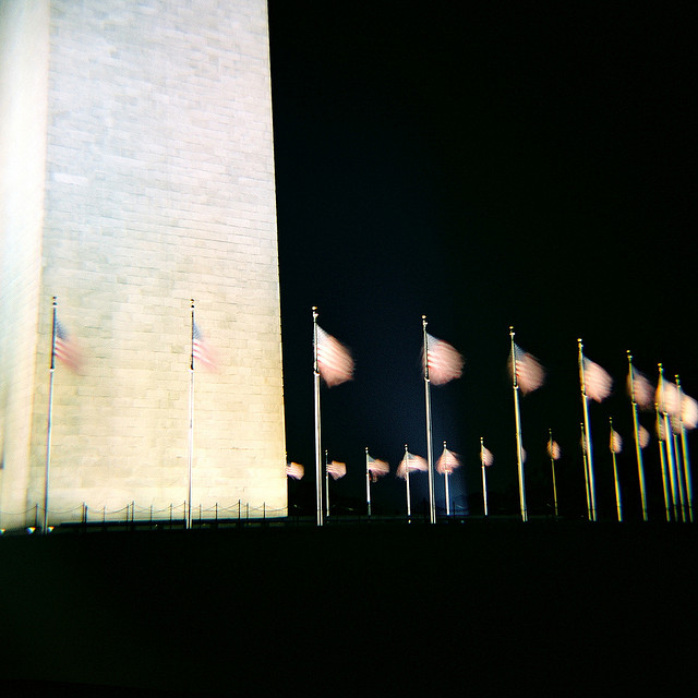 Washington Monument in Fujifilm Velvia