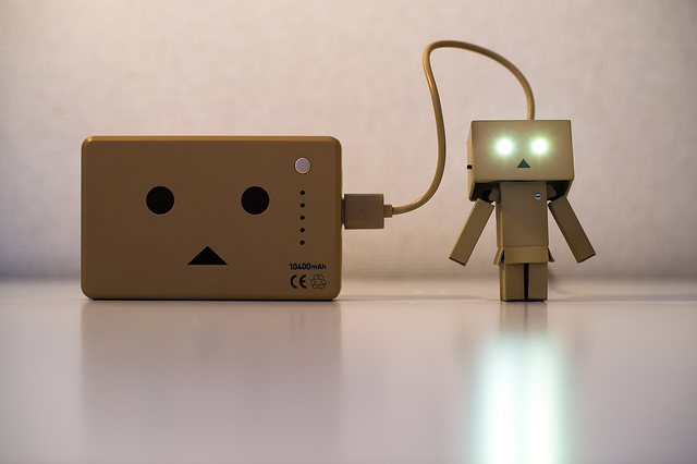 cell phone iPhone Recharging Danbo Power