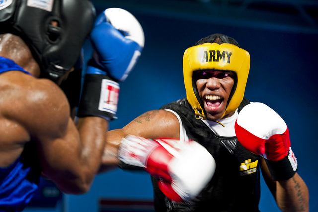 athlete  boxing Fists of fury