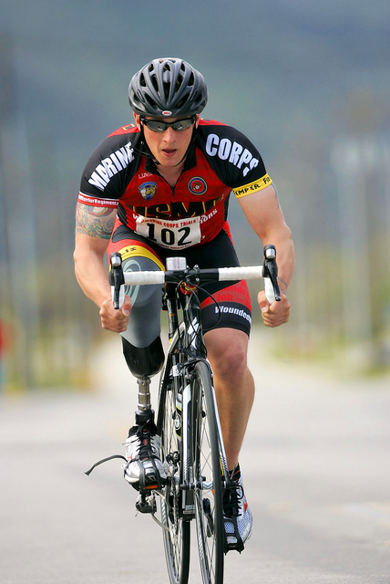 athlete bicycle 2013 Marine Corps Trials cycling