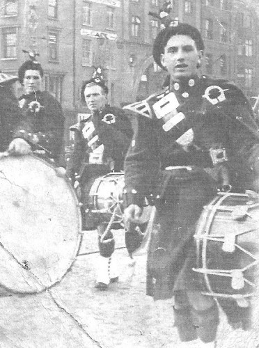 1941 This is another photo of St Dominics Pipe Band Tallaght as the photographer took two photos of the band