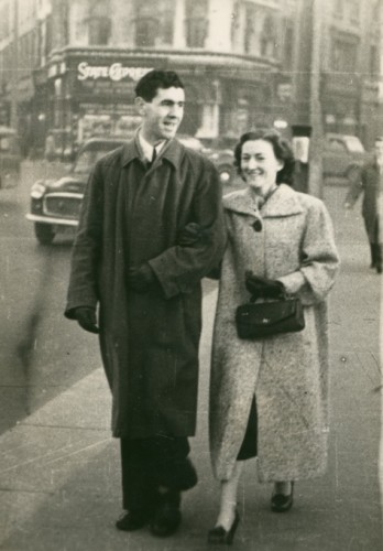 1943 Edith Atkinson and daughter Mary Ruth McCormack