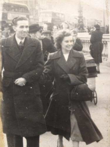1947 Willie Farrell and Kathleen Coffey both sadly deceased of Naas Co Kildare Laureen Farrell