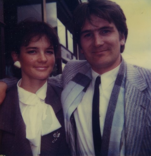 1988 Derek Bauer and Rose the day they got engaged at the Happy Ring House They are still happily married
