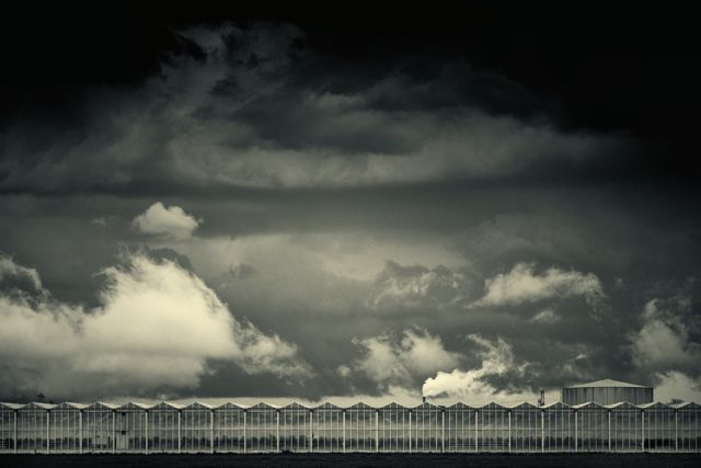 Marinus Wieten Black & White Clouds