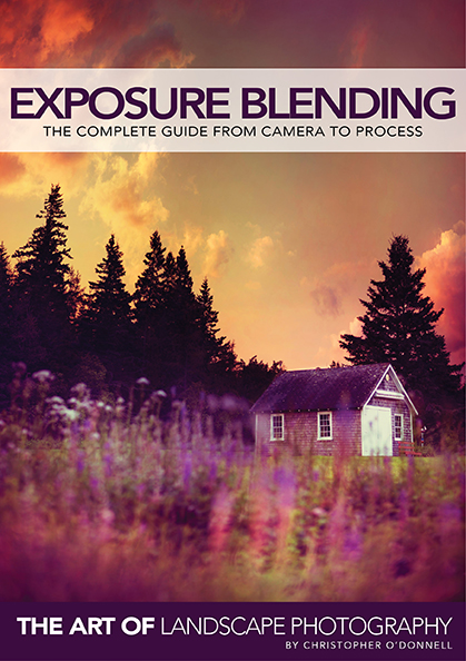 Exposure Blending eBook cover