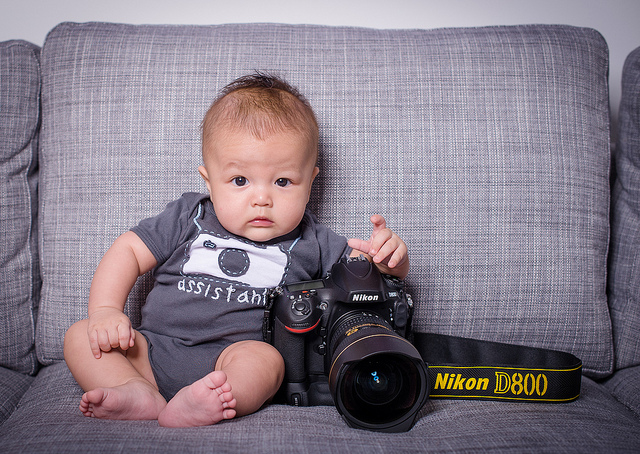 Daddy's Lil Assistant