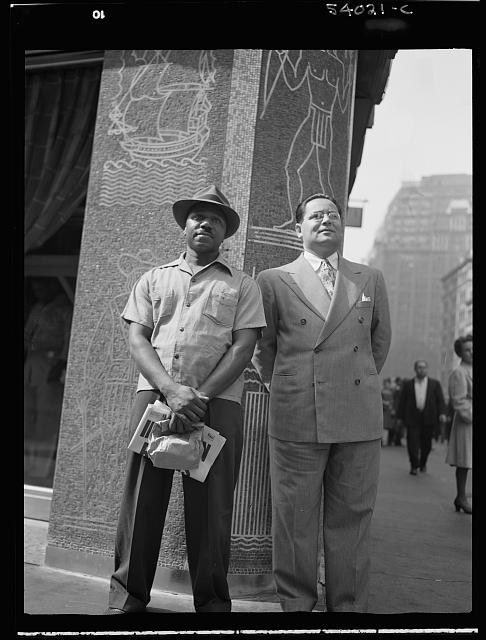 WW2 WWII Library of Congress New York, New York. Times Square and vicinity on D-Day